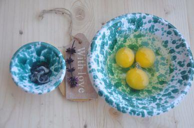 Uova e nero di seppia