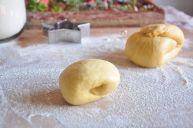 Pasta all'uovo pronta per essere stesa