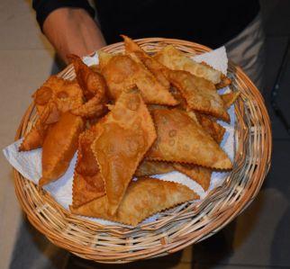 Gnocchi fritti pronti per essere mangiati