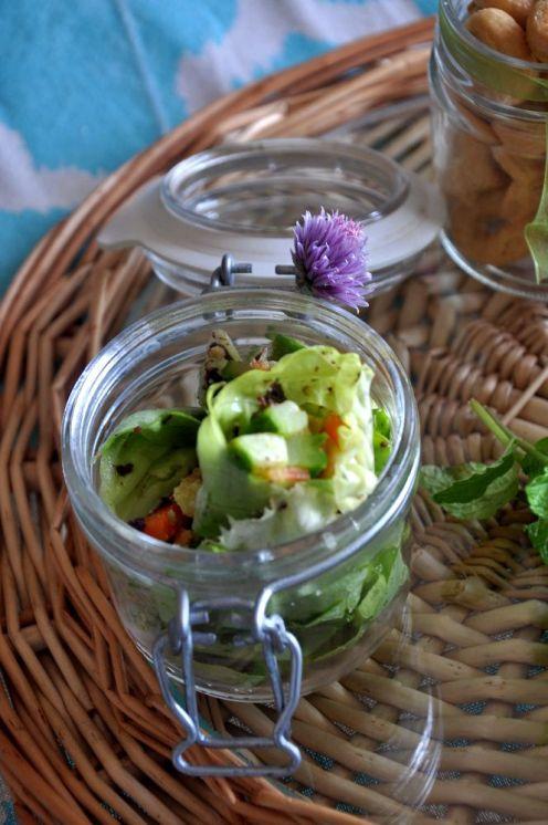 involtino di insalata con zucchine e carote