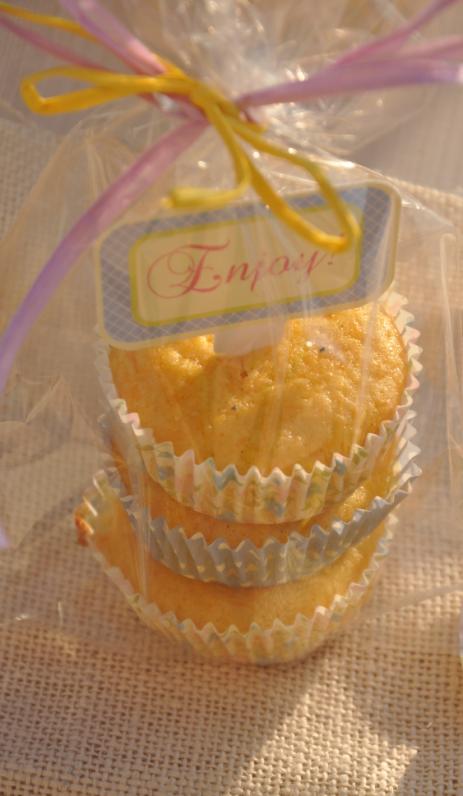 muffin alle carote in versione regalo