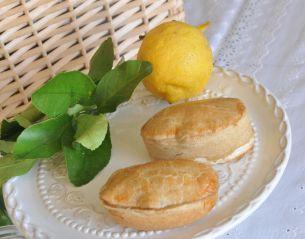 Pasticciotto salato ricotta e limone