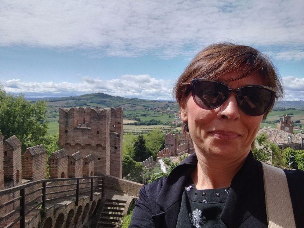 La vista dal Castello e io!