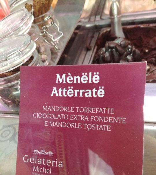"""Gusto gelato """"Menele atterrate"""""""