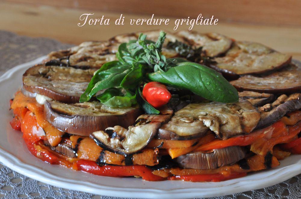 Torta di verdure grigliate