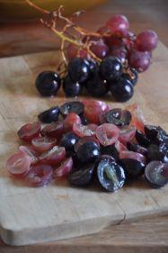 Uva per strudel senza i semi