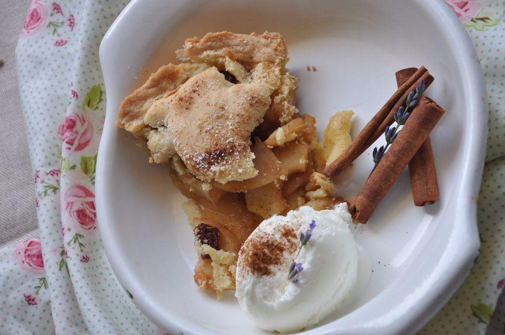 Apple Pie con gelato alla crema