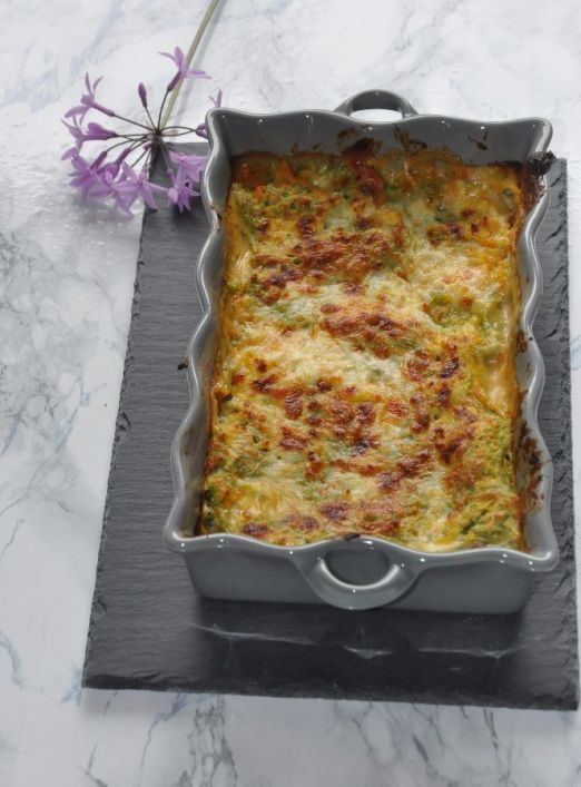 Lasagna zucca e provola affumicata