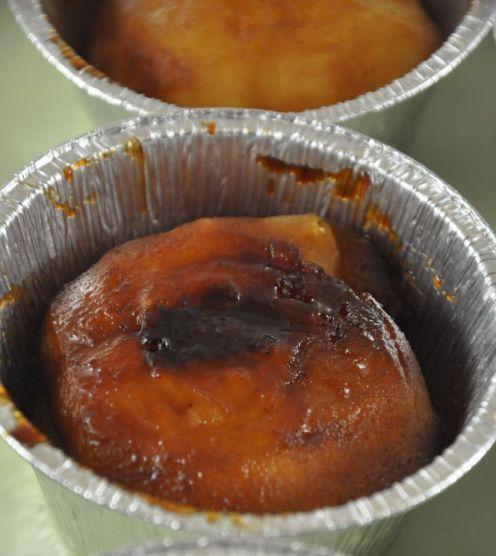 Mele caramellate per mini Tarte Tatin