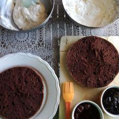 Ingredienti per la torta Foresta Nera