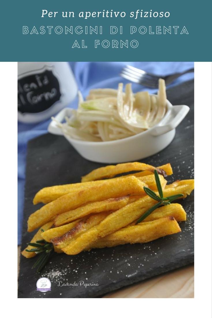 Bastoncini croccanti di polenta al forno