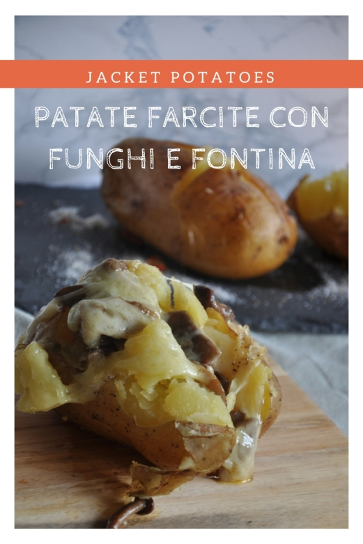 Jacket Potatoes con funghi e fontina