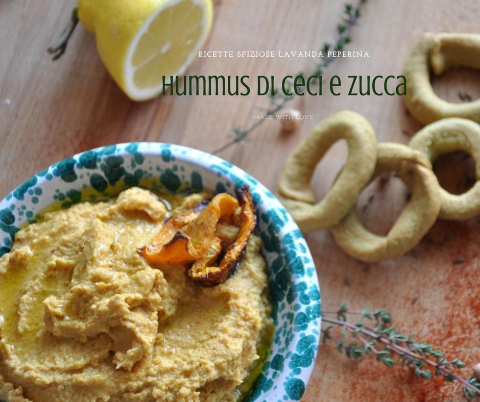 Hummus di ceci e zucca