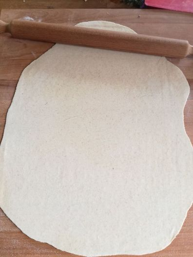Pasta fresca al rosmarino per ciceri e tria
