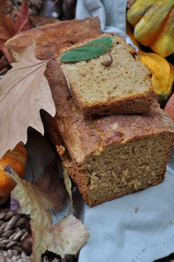 Pane alla zucca e farina di castagne