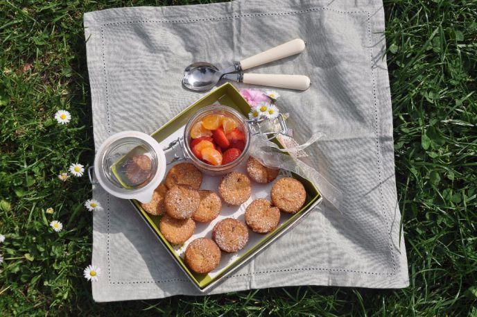 tortine con fragole e peperoncino
