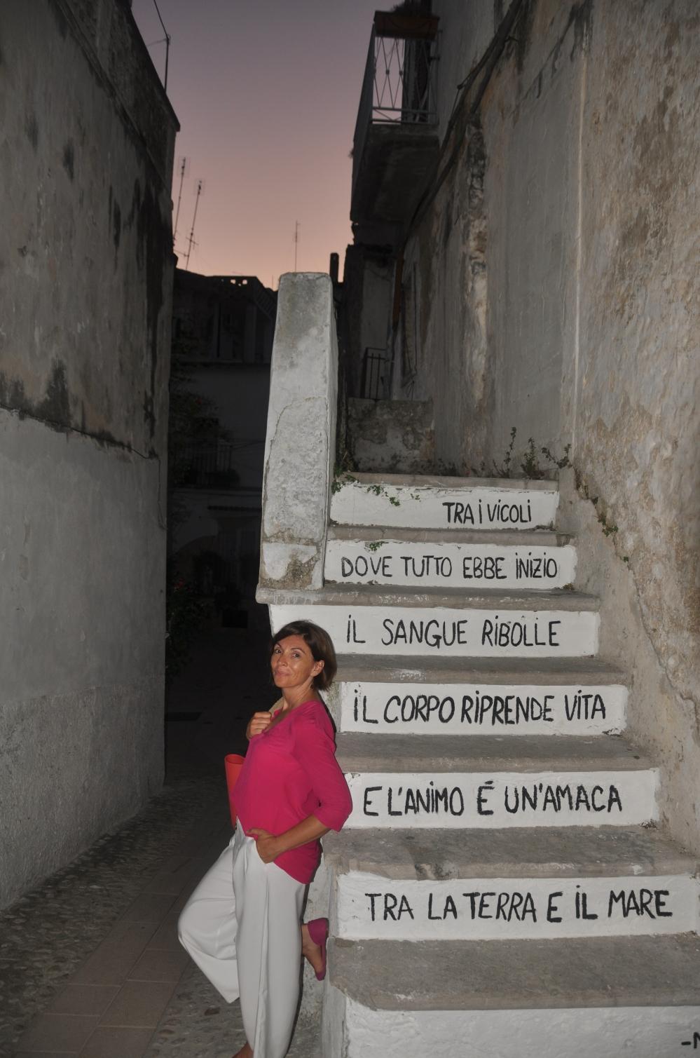Giovanna Massaro centro storico Cagnano Varano