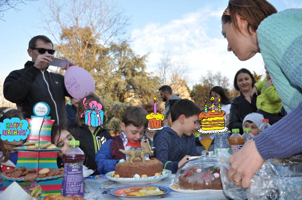 Festa compleanno tema dinosauro