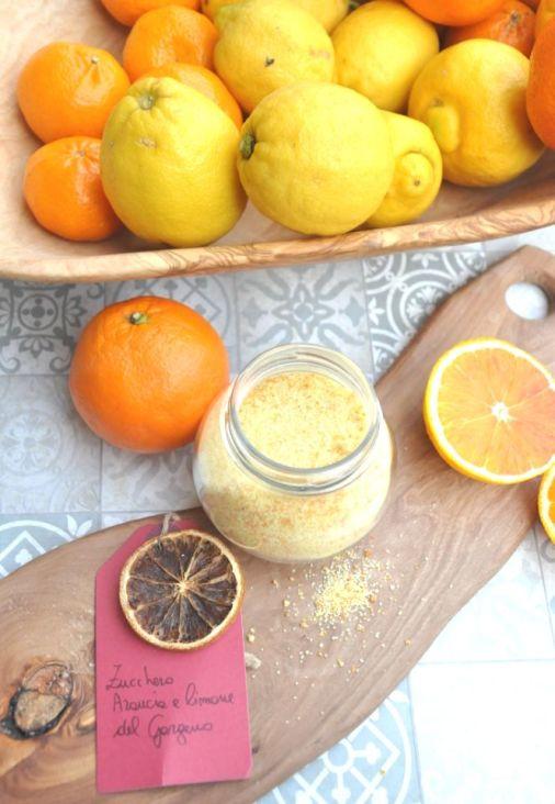 Zucchero all'arancia