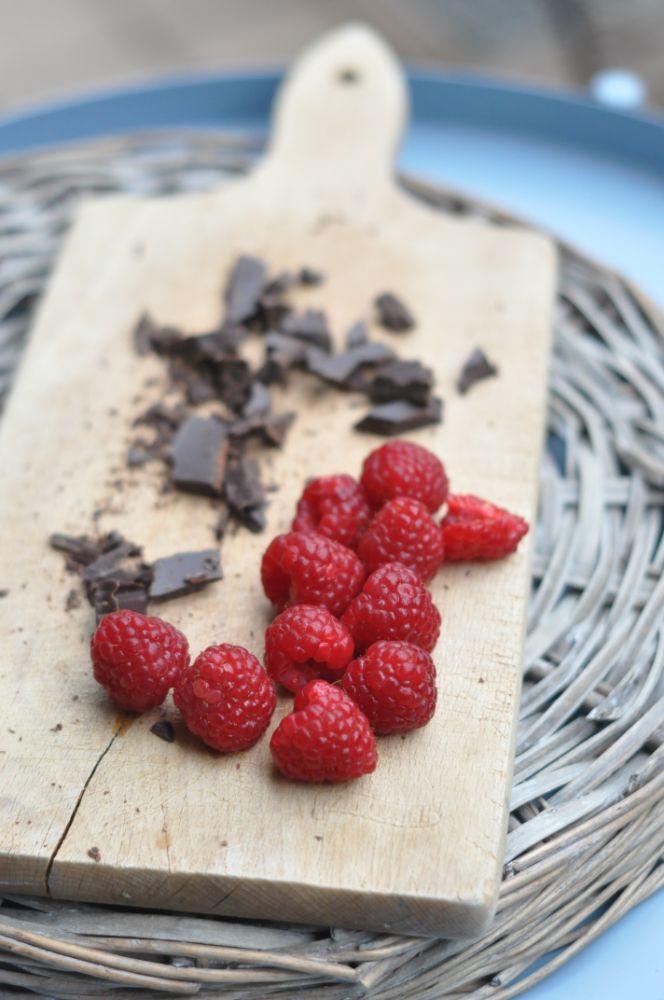 Lamponi e cioccolato