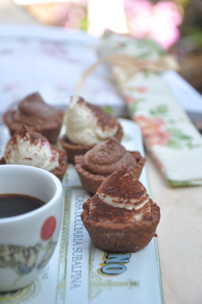 Tartellette-tiramisù