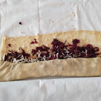 Strudel con pasta tirata