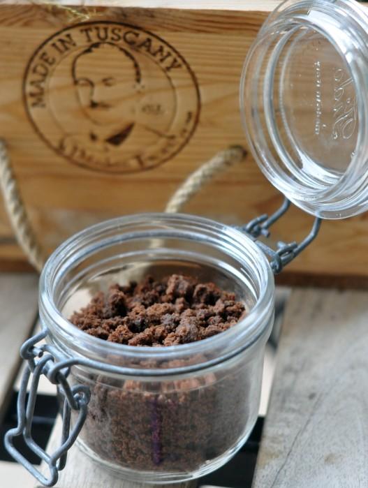 Crumble al cioccolato
